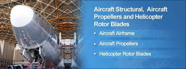 Aircraft Structural, Aircraft Propeller and Helicopter Rotor Blade