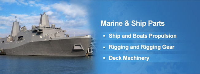 Marine Hardware, Marine Equipment, Ship Parts