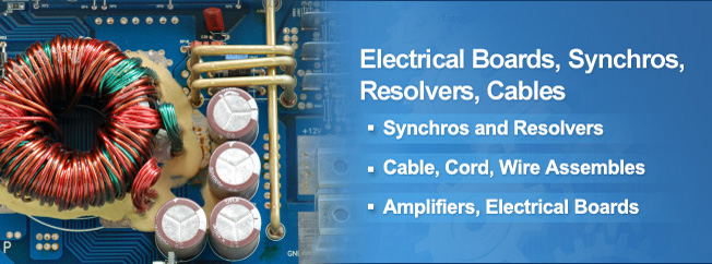 Electrical Board, Synchro, Resolver, Cable