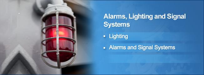 Lighting, Alarm, Signal System